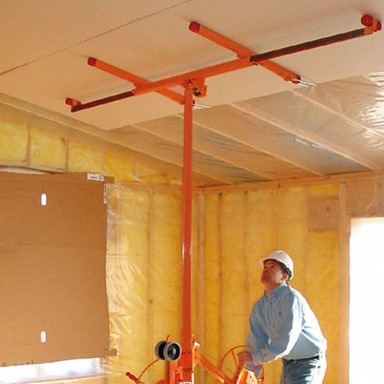 Plafond van gipsplaten maken