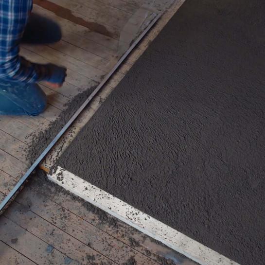 Forberedelse af gulv af tømmer