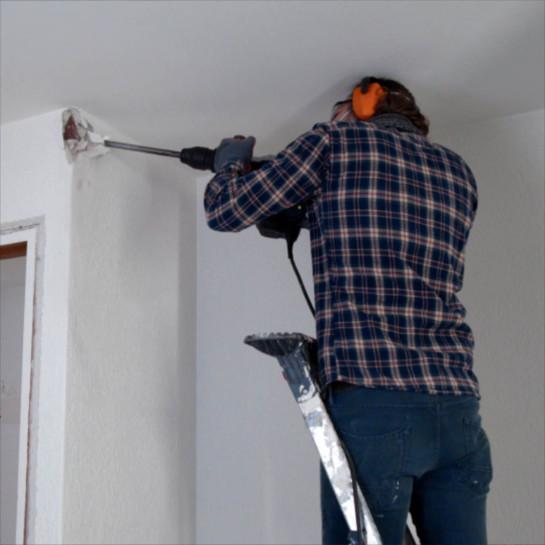 Trin-for-trin-plan til at vælte en væg